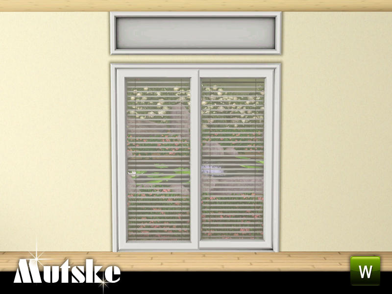 Mutske 39 s perfect fit sliding door 2x1 for Sims 4 balcony