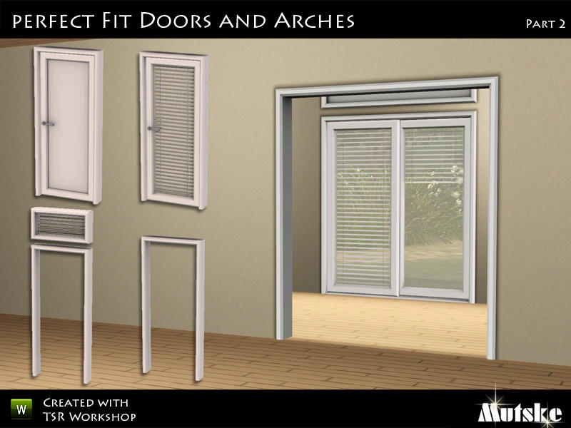 Mutskes Perfect Fit Doors And Arches