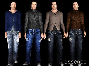 Sims 3 — Homme Fatale by simseviyo — New set for guys :)