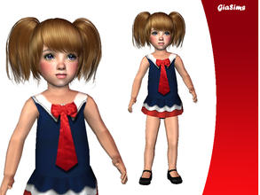 Sims 2 — Sailor Pageant Outfit by giasims — Sailor Pageant Outfit