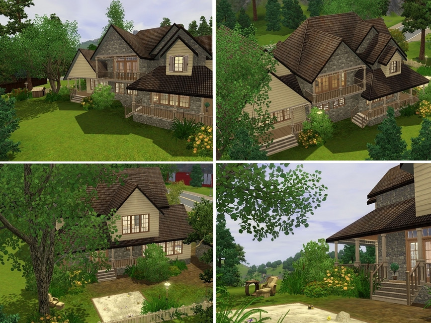 grizzly bear's Redwood Cottage