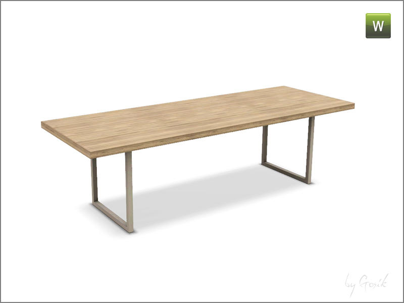 gosik 39 s skarto dining table 3 tiles