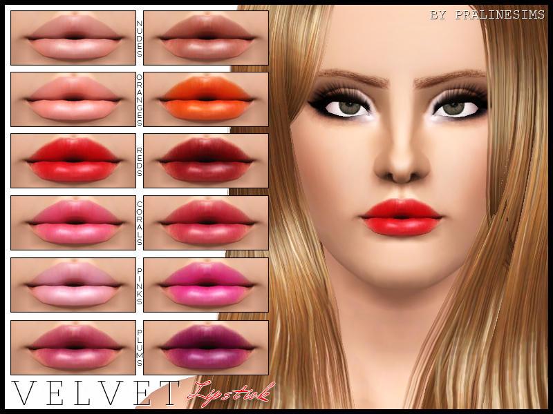 Pralinesims Velvet Lipstick