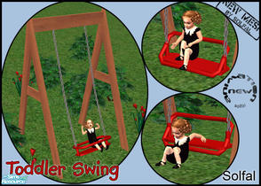 Sims 2 — Toddler Swing - New Mesh by solfal —