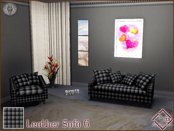 Devirose 39 S Leather Sofa Patterns Set