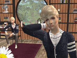 Sims 2 — Allen by LovelyDaisies2 — This is Allen.To download him the best way is to use Sims 2 Clean installer. If you