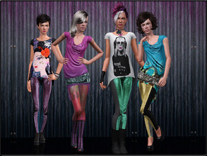 Sims 3 — FashionSet17 by Shojoangel — Hi everybody...This set contains some beautiful outfits in different styles - a