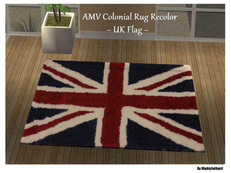 Mightyfaithgirl S Amv Colonial Rug Recolor Uk Flag