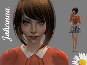 Sims 2 — Johanna by LovelyDaisies2 — This is Johanna. To download, Sims 2 Clean Installer, which you can download, would