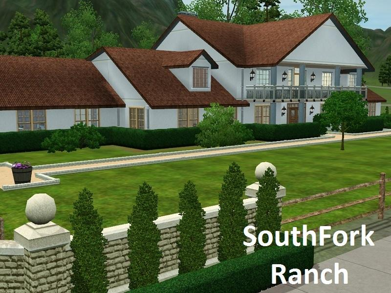 Southfork ranch house floor plan thefloors co for Southfork ranch house plans