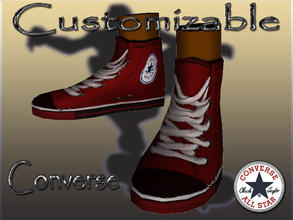 Sims 3 — Customizable Converse-Teen by terriecason — Decades of perfection needs no improvement. Update 11-24-12: