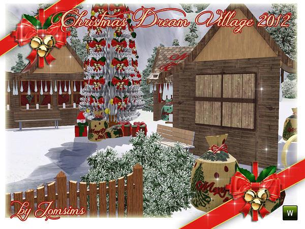 Jomsims' Christmas Dream Village 2012