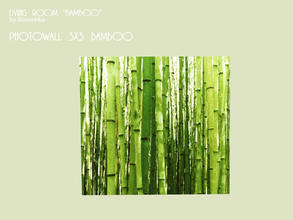 Sims 3 — Photowall 3x3 by Severinka_ — Photowall 3x3 with bamboo pattern. Create an atmosphere in your room is of oneness