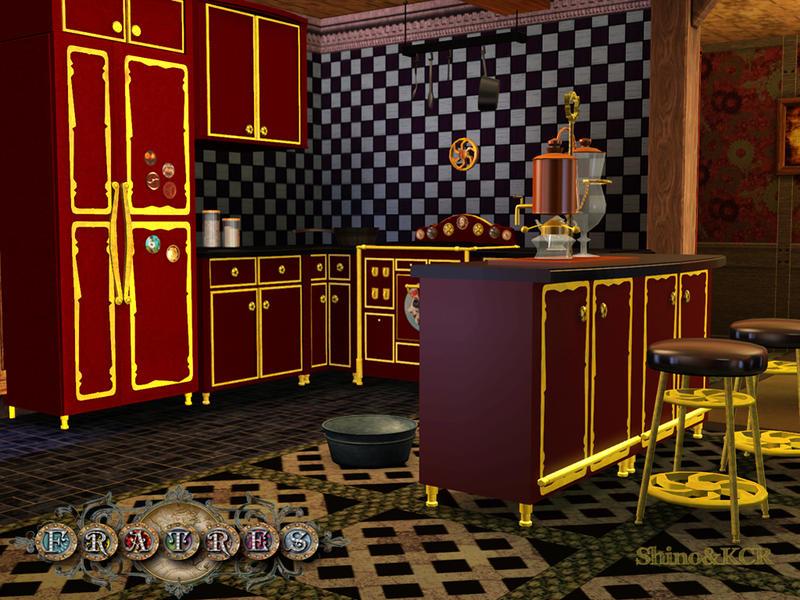 Shinokcr S Fratres Steampunk Kitchen