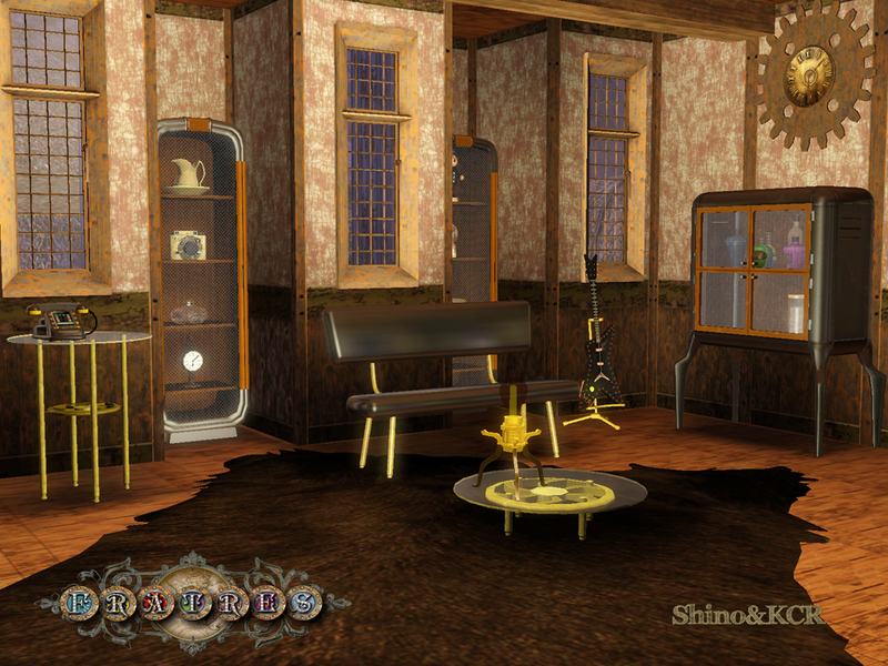 Steampunk Living Room : ShinoKCR's Fratres - Steampunk Living