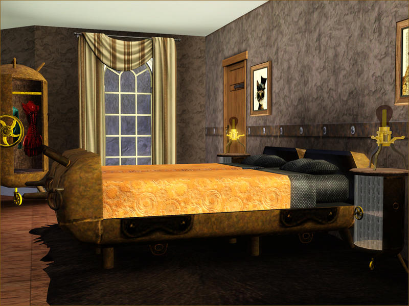 Steampunk Bedroom Set Centerfordemocracy Org