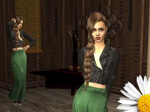 Sims 2 — Estelle by LovelyDaisies2 — This is Estelle. To download her, the best way would be using Sims 2 Clean Installer