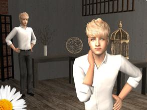 Sims 2 — Jeremy by LovelyDaisies2 — This is Jeremy. To download him, the best way would be using Sims 2 Clean Installer