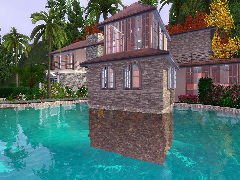 Sims  Villa Turkish