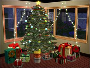 Sims 3 Downloads - 'christmas lights'