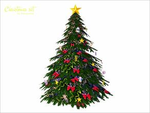 Sims 3 Christmas Tree.Sims 3 Objects Christmas Tree