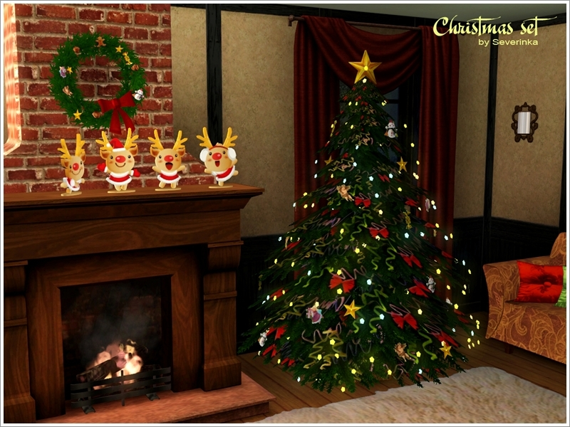 Sims  Christmas Decor