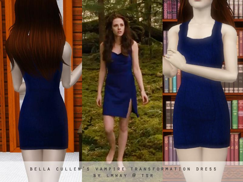 Bella blue dress