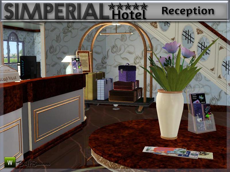 BuffSumm's Hotel SIMPERIAL***** Reception