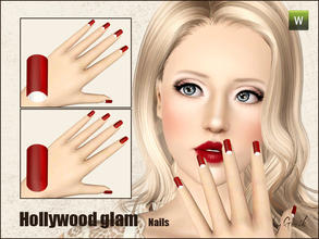 faux ongles pour sims 3