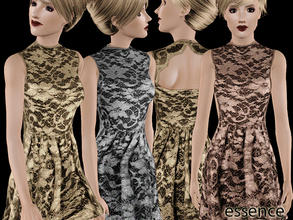 Sims 3 — Christmas Dress No:1 by simseviyo — i wish you a very beautiful christmas