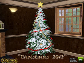 Sims 3 Objects - 'christmas tree'