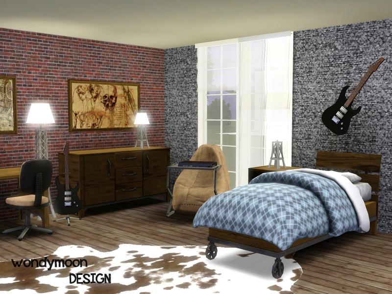 wondymoon s rhodium teen bedroom sailormon hairstyle lavelle truffle bedroom set by vita sims