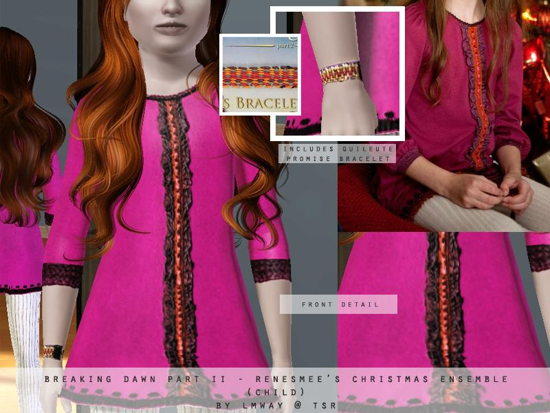 lmway's Breaking Dawn Part II - Renesmee's Christmas Dress ...