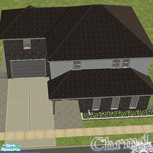 Sims 2 — 48 Dreamers Lane by Chrmd — Ideal starter home for less than $20,000 for any new couple or young family.