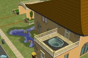 Sims 2 — No.1 Golden Sand Bay by beckyleanne — Do your Sim\'s want a relaxing home where they can go about their normal