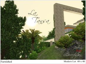Sims 3 — La Tansa Villa by Jindann — In the coldest time of year, when the winter makes you feel interesting to be closer