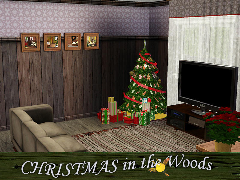 Evi christmas in the woods