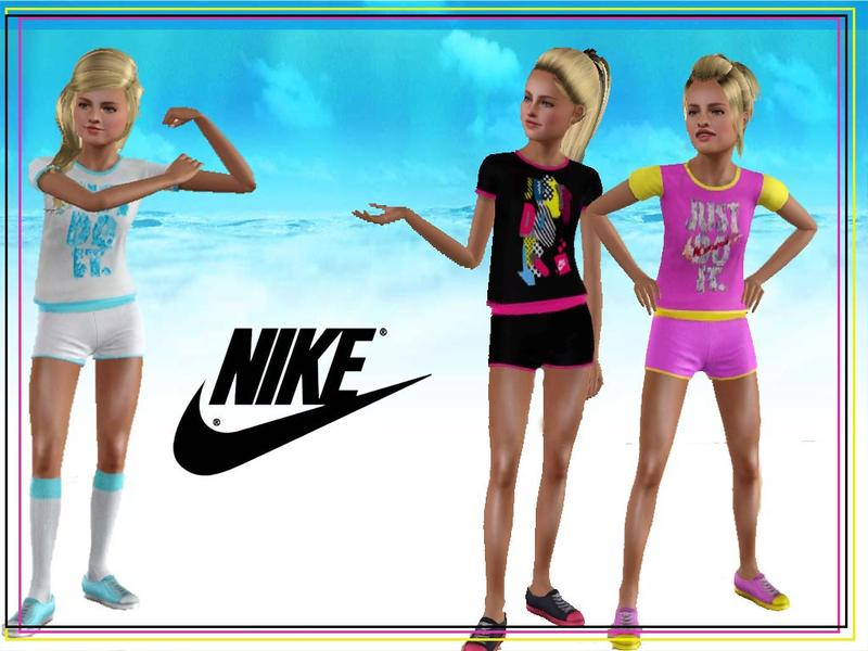 flower_love's Nike T-shirt for Teens
