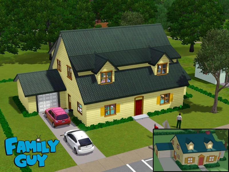 The Simpsons House Plan >> arlepesa's Family Guy House