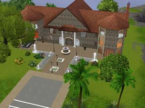 Sims 3 — Sim Lane 39 by Silerna — Sim Lane 39 fully furnished!A beautiful big villa for the rich or big families of