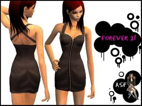 Sims 2 — Forever 21 - Adult Dress  by KCsim — Hope you like it on your sim. Placed under Formal Wear. Please make your