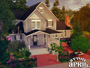 Sims 3 — April -Furnished- by ayyuff — 30x30 Fully furnished and decorated house.. It has: 1st. floor: