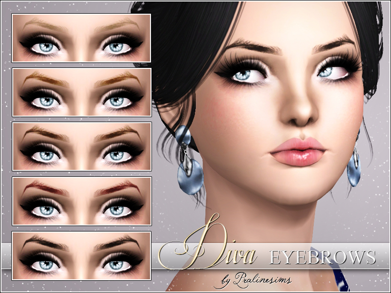 Pralinesims Diva Eyebrows