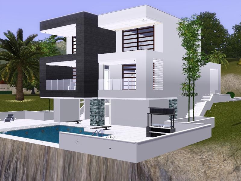 Gox35 39 s modern minimalist villa for Modern minimalist villa