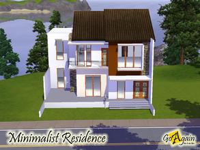 Sims 3 Lots Minimalist
