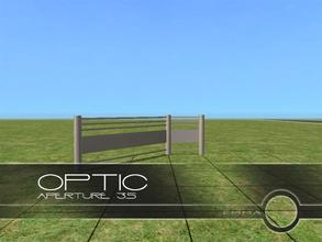 Sims 2 — Optic Buildset - Aperture 3.5 by Emma_O — part of the Optic Buildset