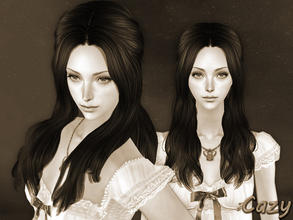 Sims 2 — Promise Hairstyle - Mesh (NB) by Cazy — Hairstyle for female, all ages.