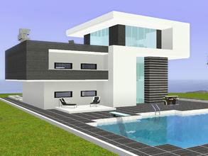 Free Sims 3 Lots modern house
