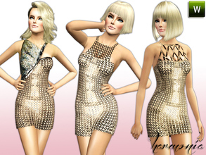 Sims 3 Female Clothing Sets - 'nude'