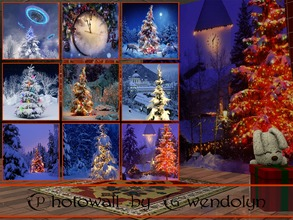 Sims 3 — GW_photowall_Happy New Year_9 items by Gvendolin2 — Give a magical New Year mood your Sims! These beautiful
